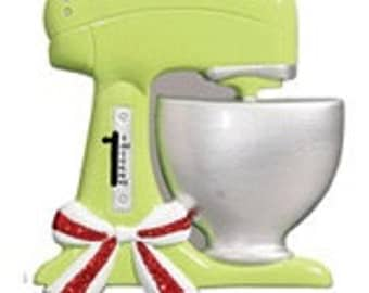 Kitchen Aid Mixer Personalized Christmas Ornament