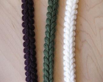 Braided Wool Trim from Mokuba By The Yard, Chanel Inspired Trim