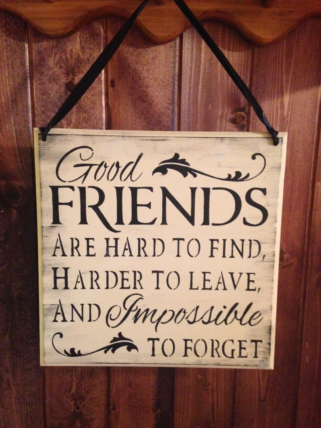 Friend Sign wood sign friends are hard to find impossible  Quotes About Moving Away From Your Best Friend