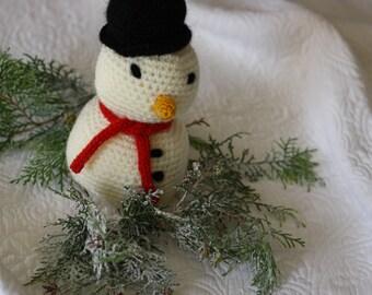 "Doll ""Christmas amigurumi snowman"