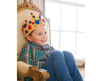 Felt Crowns Sewing Pattern Download 803404