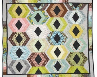 Dripping with Diamonds Quilt Pattern Download (802708)