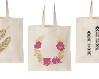 Screen Printed Tote Bags