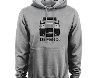 Land Rover Defend Mens Car Hoodie High Quality Hoodie and Print gift present for Man