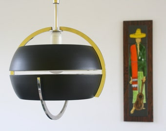 Retro seventies pulley Pendant Light - Mid century Raak Holland Hala Anvia