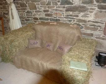 Set of Mr & Mrs cushions