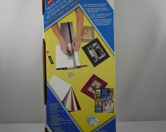 Logan Graphic Products Deluxe Mat Cutting Kit With A Pack Of 50 Extra Blades Lightly Used