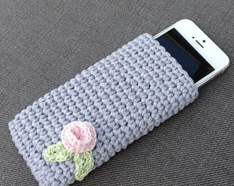 Crochet Phone Case, iPhone, smart phone crochet cosy.
