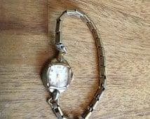 Gruen Precision watch 17 Jewels 10k RGP with Seidel 10k gf band Free US Shipping