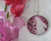Floris & Florian -9- warm summer roses-original print pendant.