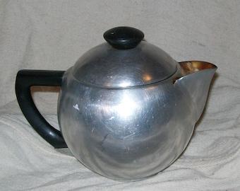 Vintage Mirror Coffee Pot