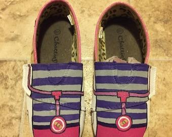 Doc McStuffins Inspired Shoes