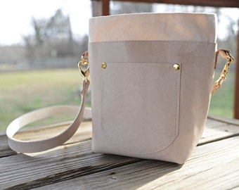 Leather Bucket Bag Free Shipping