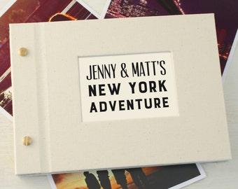 Personalised Typographic Mini Photo Album