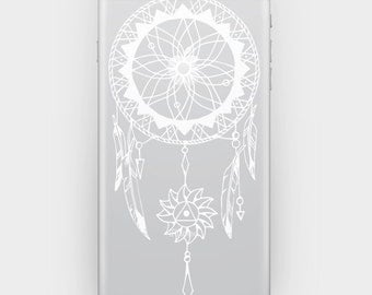 Transparent Skin Sticker Decal for iPhone 6 5 5s 4 4s - Dreamcatcher 3