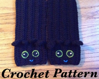 PDF File Pattern Toothless Fingerless gloves / Wrist Warmers / How To Train Your Dragon 2 / HTTYD / Alpha Toothless