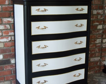 Black and White Dresser by Drexel