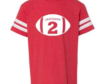 Birthday Boy, Birthday Boy Shirt, Football birthday shirt, second birthday, birthday party