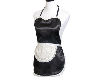 Women's SULTRY French Maid Apron