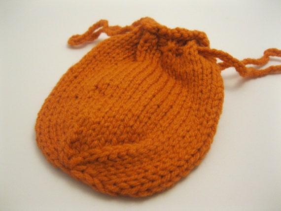 Knit Dice Bag Pattern **download** from YarnTwistersShop on Etsy Studio