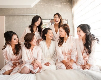 Bridesmaid robes set of 10  Bridesmaid robes set of 3 Bridesmaid robes set of 4 Bridesmaid robes set of 5 Bridesmaid Robes set of 7