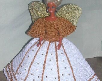 Crochet Fashion Doll Barbie Pattern- #515 ANGEL HOPE