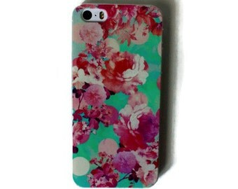 Pink Flowers iPhone 5s Case