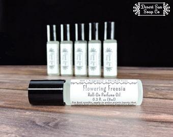 Freesia Perfume Oil | Roll On Perfume Oil | Perfume Oil | Roll-On Perfume Oil | Perfume Oil | Oil Perfume | Flowering Freesia Perfume