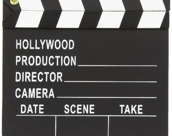 Director's Clapboard/ Centerpiece/party Decoration
