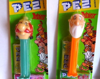 Two Pez Asteriz, Mint on Cards, With Bon Bons, Never Sold in U.S.A.