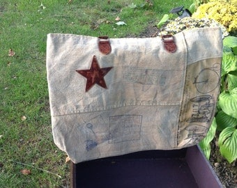 Great Recycled Canvas Bag!!!!!