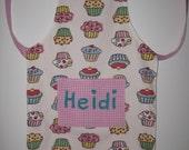 Childrens Apron Baking Set Baking Bag reversible apron
