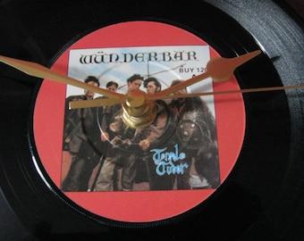 "Tenpole Tudor wunderbar   7"" vinyl record clock"
