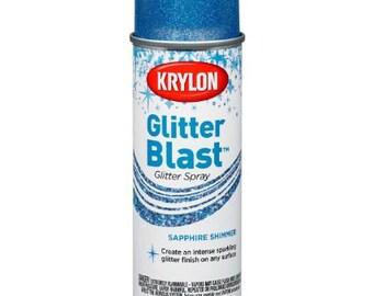 Krylon Sapphire Shimmer 6 oz. Glitter Blast