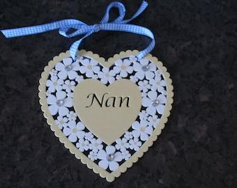 heart hanger NAN