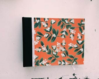 SALE Mistletoe Photo Album, Leather