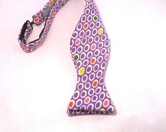 Purple Bowtie - Purple - Men's Bowties - Handmade Bowties - Custom Bowties
