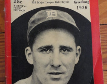 Who's Who in Baseball 1936 (21st Edition)