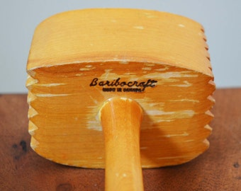 Vintage Baribocraft Maple Mallet, Kitchen Tool - Wood circa 1960s from Montreal, Canada