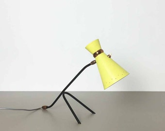 original 60s modernist italian Stilnovo style desk light Lampe Leuchte LIGHT  | danish modern | midcentury modern | eames panton