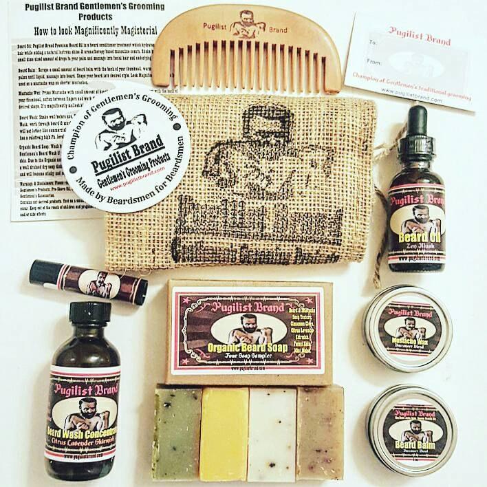 beardsman 39 s heavy bag beard care kit. Black Bedroom Furniture Sets. Home Design Ideas