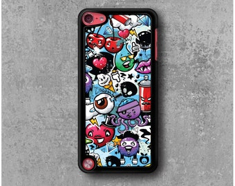 iPod Touch 5 Case Graffiti Manga Funny