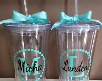 Personalized Bridal Tumbler Vinyl Decal Diy Stickers