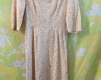 Vintage Lace Dress Size Small