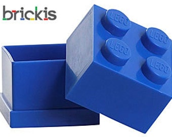 LEGO® party favor mini storage as gift wrapping with your minifigure or brick