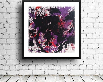 Abstract Ink Blot