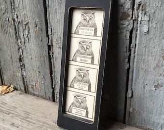 Photo Booth Frame Wedding 2 X 6 in.