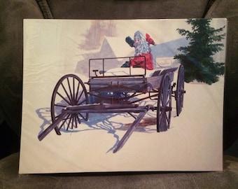 Santa - Artist Print