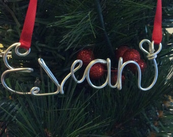 Evan ornament