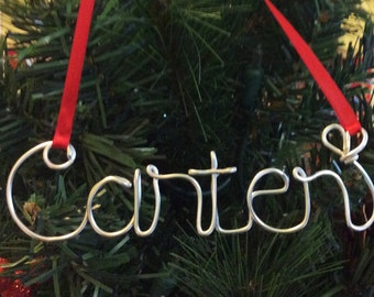 Carter ornament